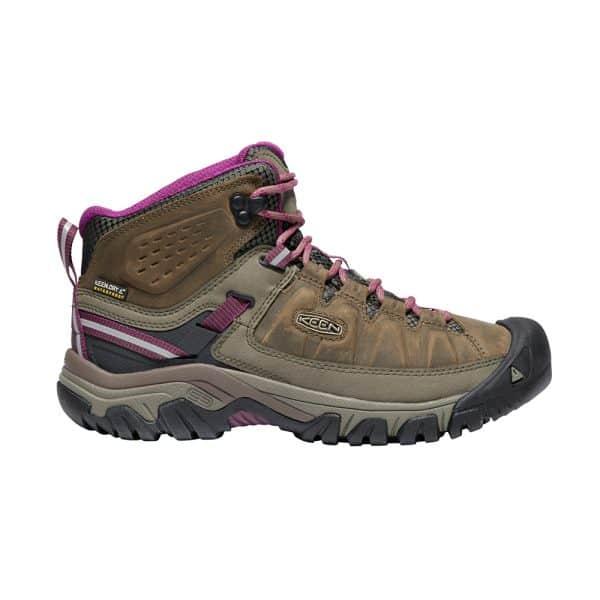 נעלי Keen לנשים | Targhee III Mid חום/פס סגול