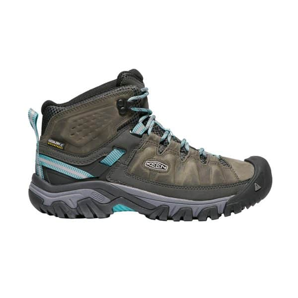 נעלי Keen לנשים | Targhee III Mid אפור/פס תכלת