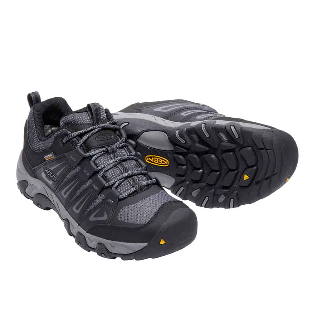 נעלי Keen לגברים   Oakridge WP אפור כהה