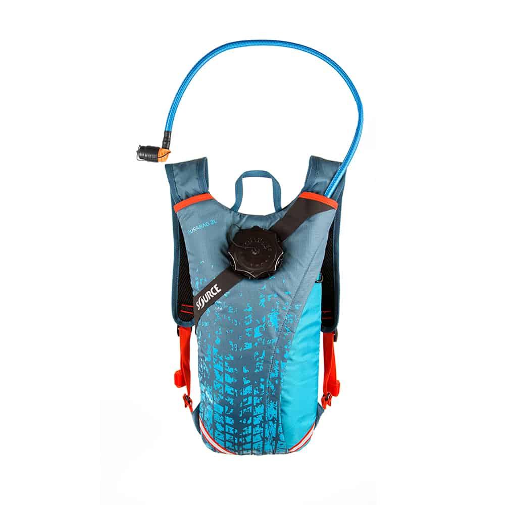 תיק מים | שלוקר שורש 2 ליטר | ™Durabag Pro כחול קוראל
