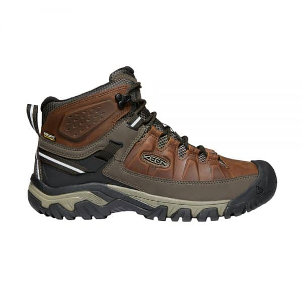 נעלי Keen לגברים | Targhee III Mid חום פס אפור